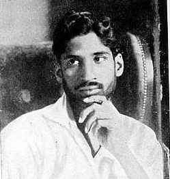 M N Roy as a young man
