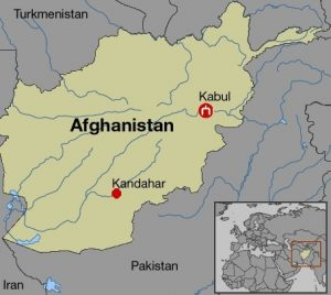 Kandahar map