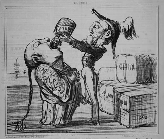 An Opium War Cartoon