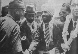 Mohan Singh and Fujiwara