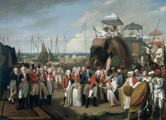Cornwallis and Tipu's sons